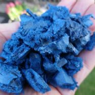 Eco Blue Rubber Chipping